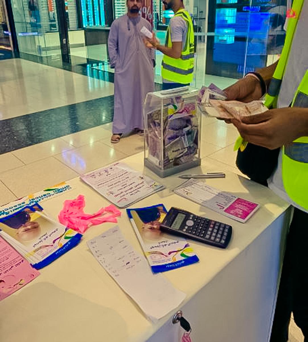 OCA volunteering in malls 2