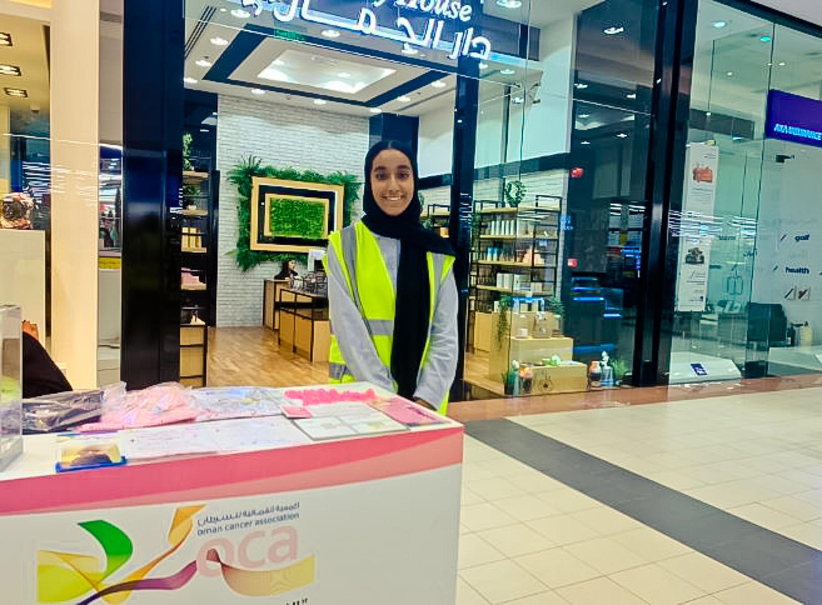 OCA volunteering in malls 3