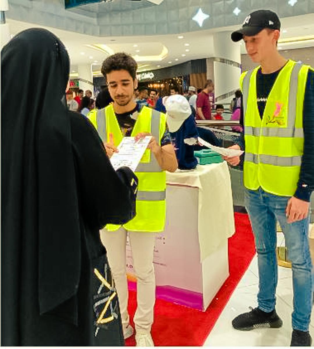 OCA volunteering in malls 6