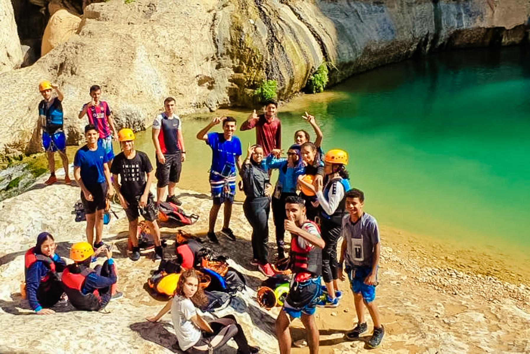 Self initiated CAS hiking trip 3