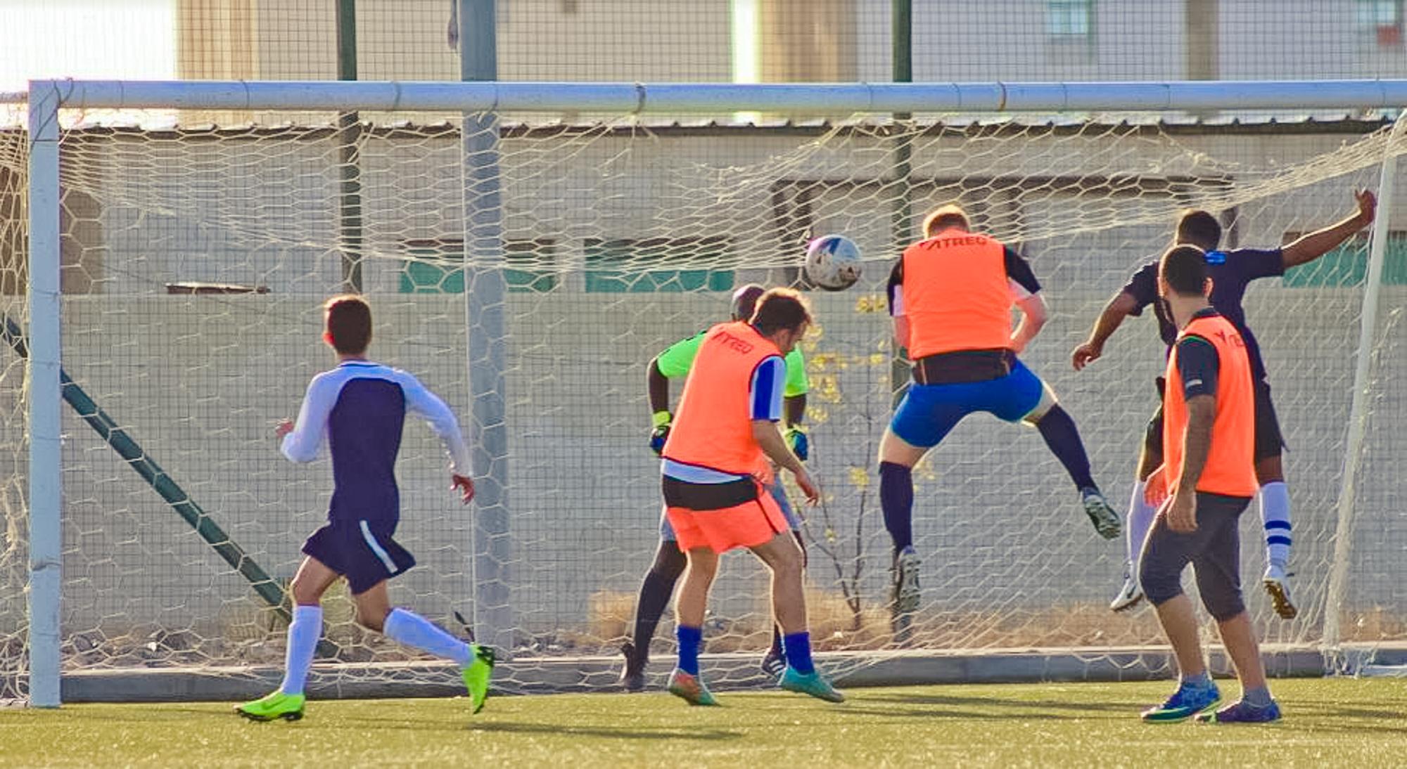 Staff student football 3